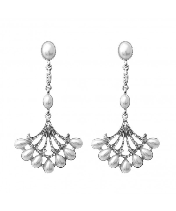 Rosemarie Collections Vintage Chandelier Earrings