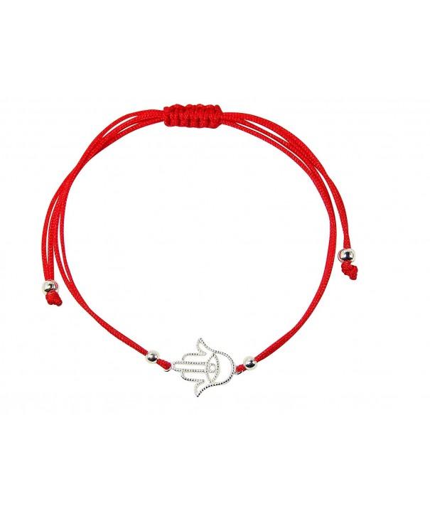 Kabbalah String Bracelet Sterling Silver
