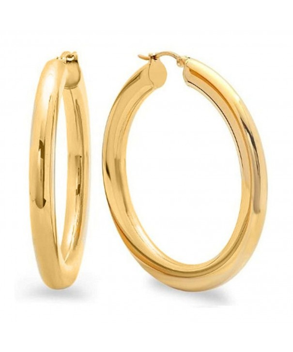 Inches Stainless Steel Yellow Earrings