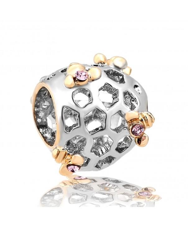 CharmsStory Filigree Synthetic Crystal Bracelets