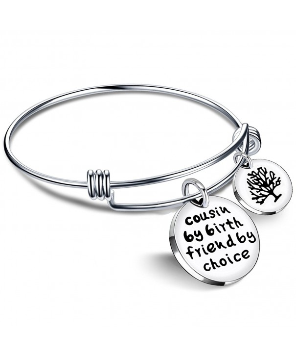 Cousin Bangle Bracelets Friend Pendant