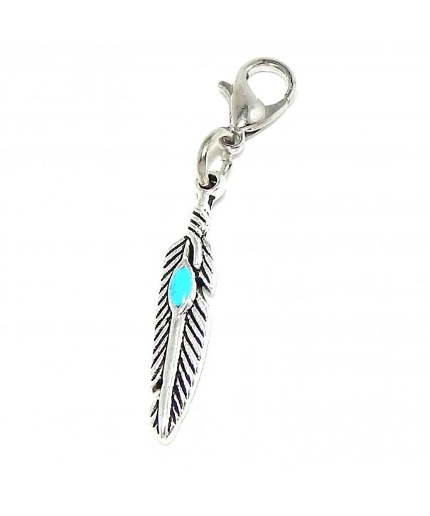 Pro Jewelry Dangling Feather Bracelet