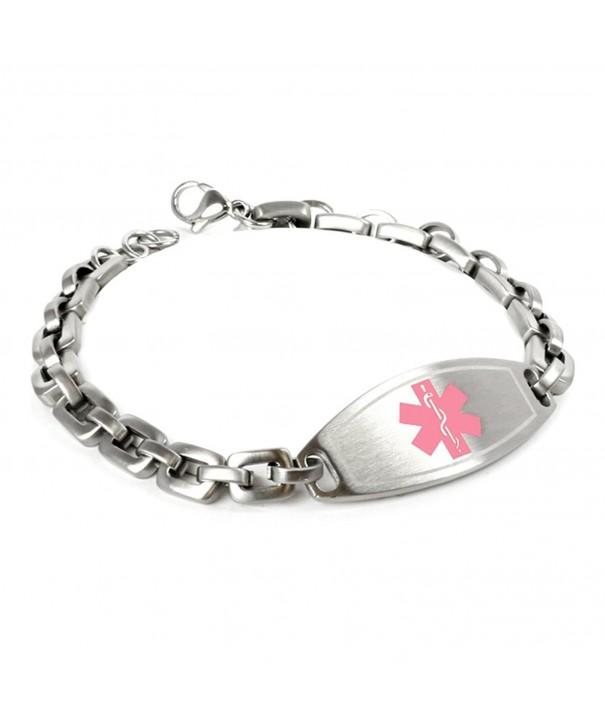 MyIDDr Customized Engraving Medical Bracelet