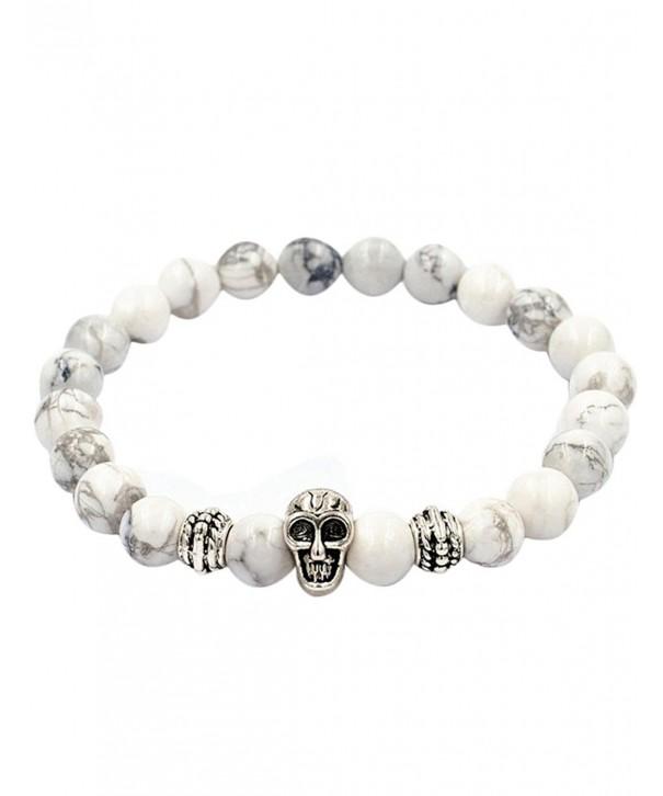 OVERMAL Natural Silver Elastic Bracelet