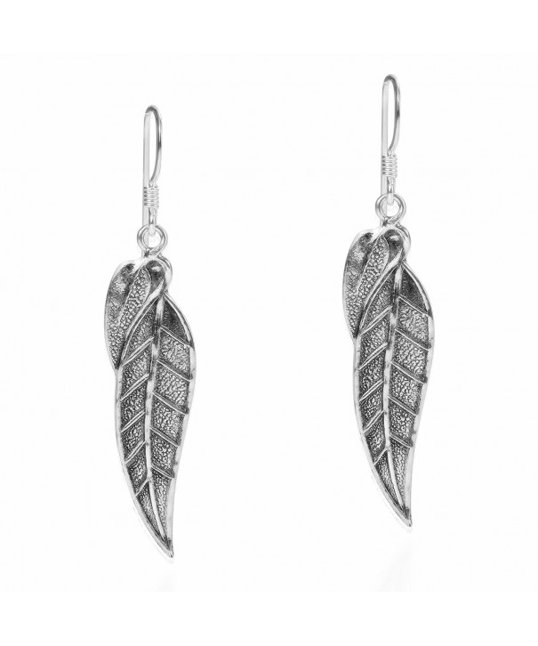 Natures Autumn Sterling Silver Earrings