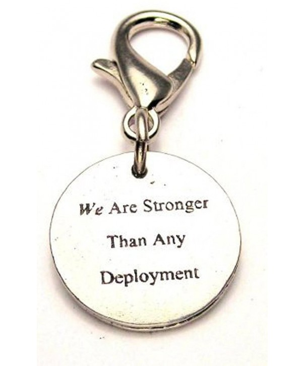Chubby Charms Stronger Deployment Pewter