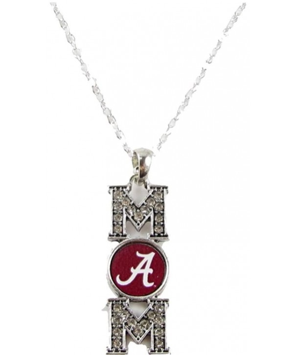 Alabama Crimson Crystal Necklace Jewelry