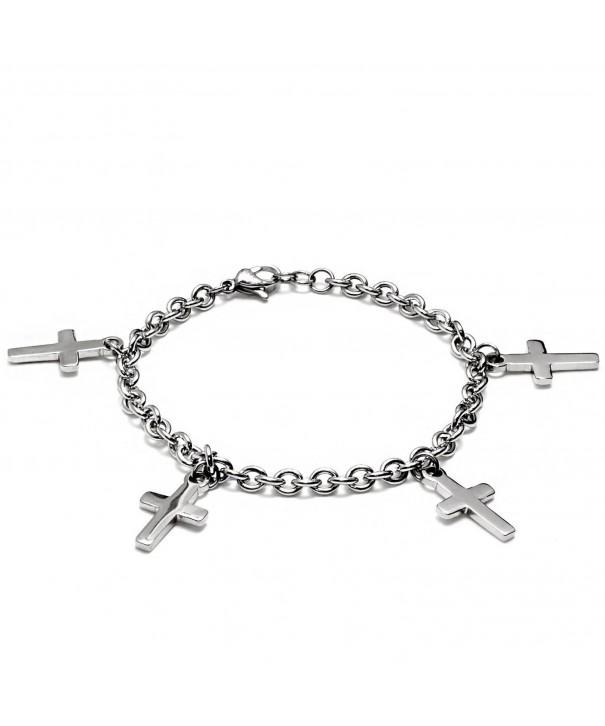 ELYA Stainless Bracelet Dangling Charms