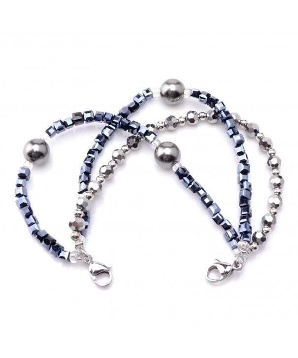 Medical Triple Silver Interchangeable Bracelet