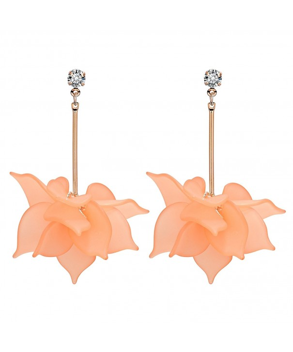 Miraculous Garden Zirconia Earrings Pendant