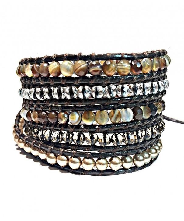 Crystal Gemstone Bracelet Emily LaRosa