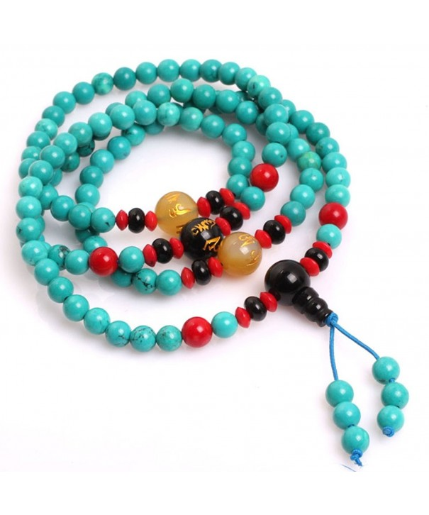 Gem inside Turquoise Catholic Christian Buddhist