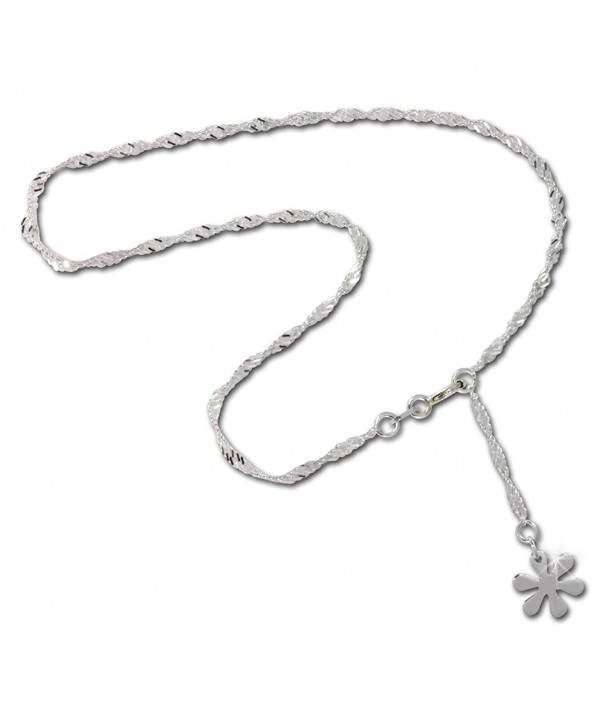 SilberDream anklet silver Sterling SDF018I