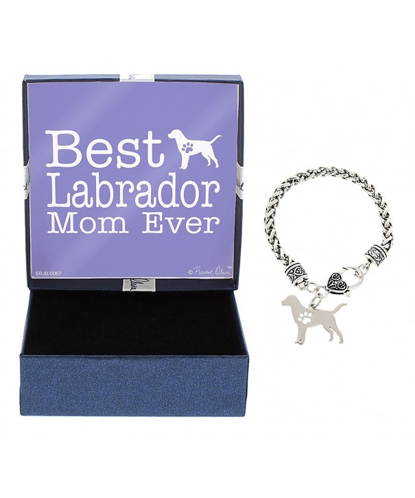 Retriever Gift Silhouette Silver Tone Jewelry