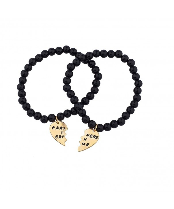 Lux Accessories Partners Matching Bracelet