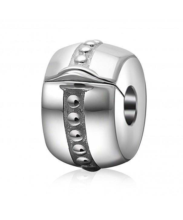 Charms Sterling Stopper European Bracelet