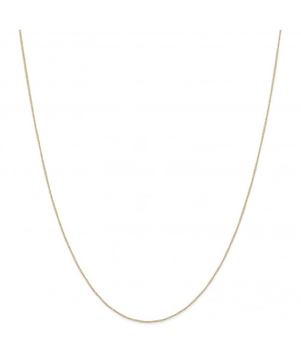 Yellow 0 42mm Carded Necklace Chain