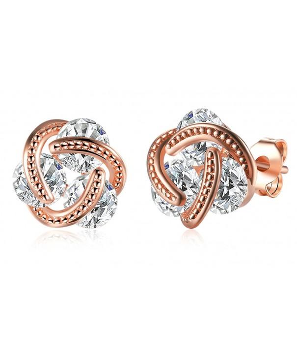 Earring Jewelry Crystal Zirconia Pierced