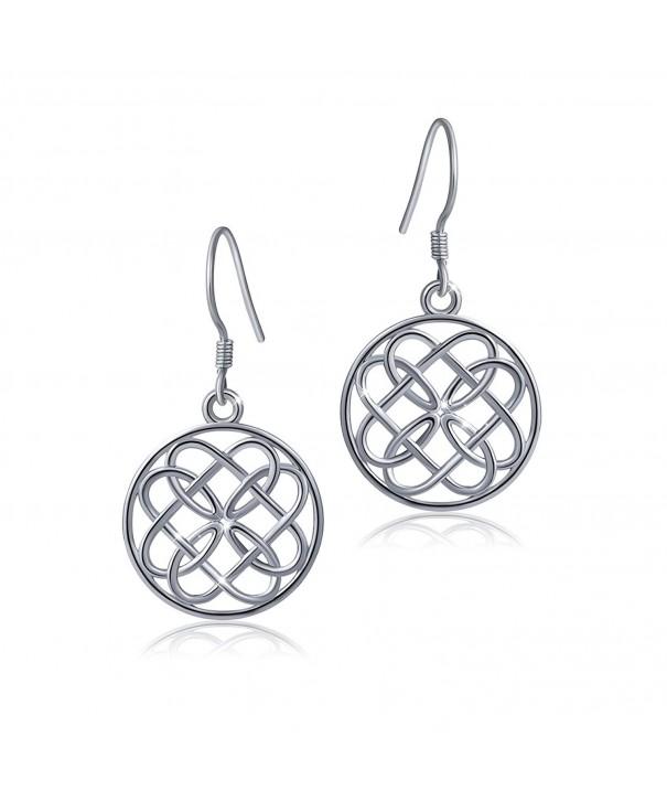 Sterling Silver Celtic Infinity Earrings