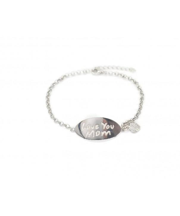 Sterling Bracelet Delicate Circles Glisten