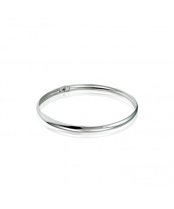 Sterling Silver Polished Childrens Bracelet