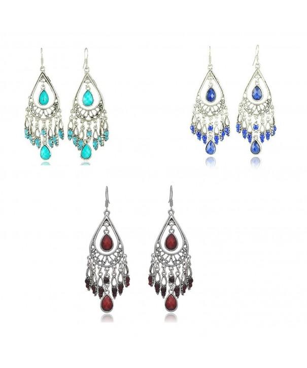 Dazzle Vintage Tassels Earring Earrings