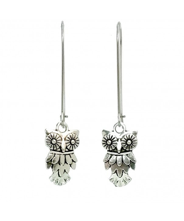 Sabai Silvertone Friends Earrings Earwires