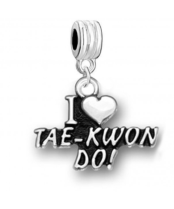 TAE KWON DO Charm Compatible European Bracelets