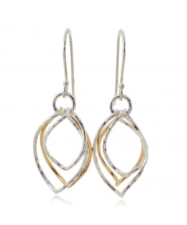 Earrings Graduated Twisted Sterling Jewelry
