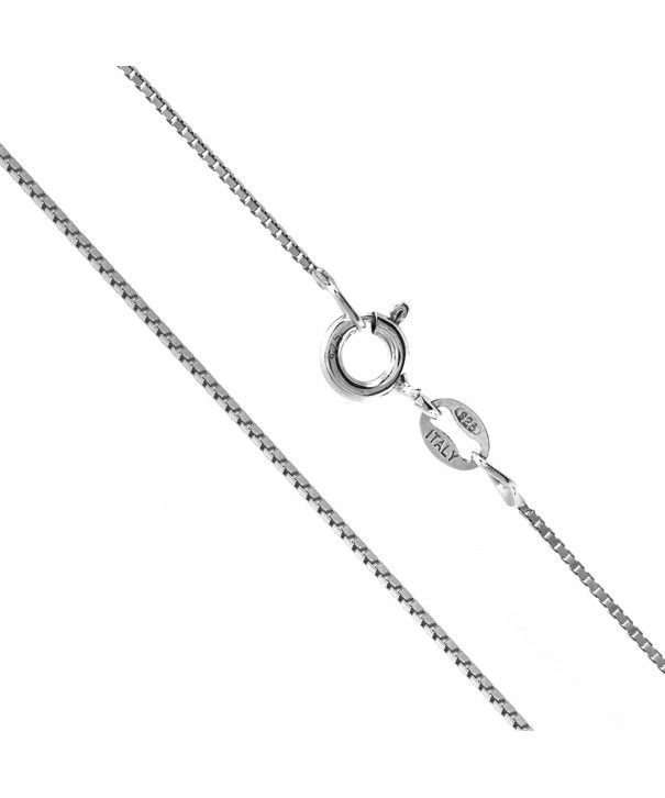 Sterling Silver 0 8mm Chain Inches