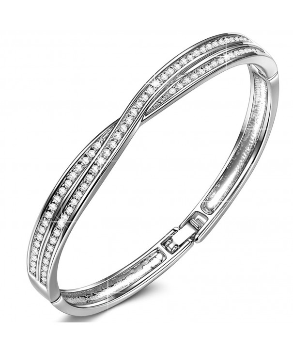LadyColour Swarovski Bracelets Girlfriend Anniversary
