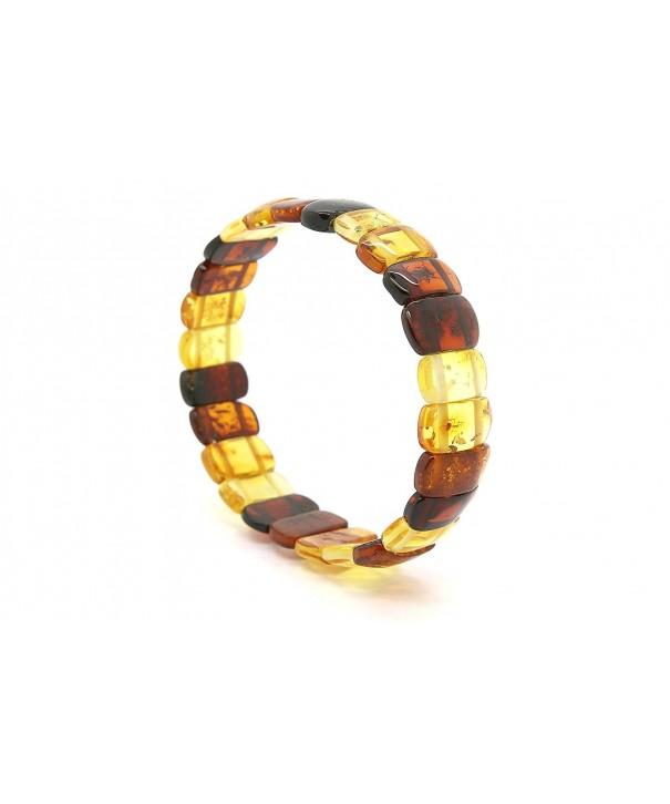 Genuine Natural Multicolored Stretch Bracelet