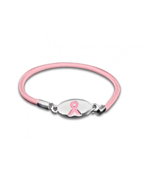 Breast Cancer Awareness Stretch Bracelets