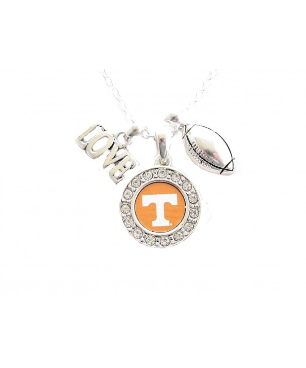 Tennessee Volunteers Football Necklace Jewelry