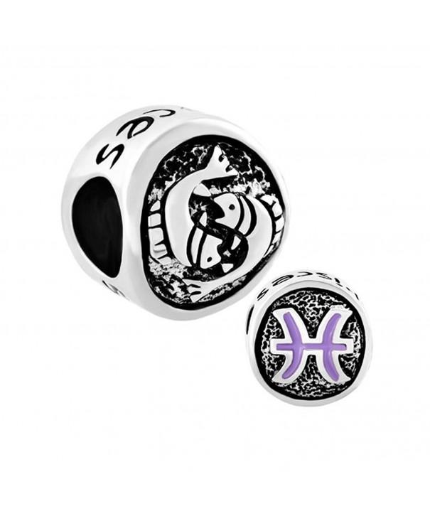 CandyCharms Pisces Horoscope Zodiac Bracelet