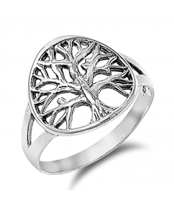 Womens Tree Beautiful Sterling Silver