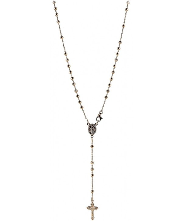 Catholic Italian Sterling Silver Rosary