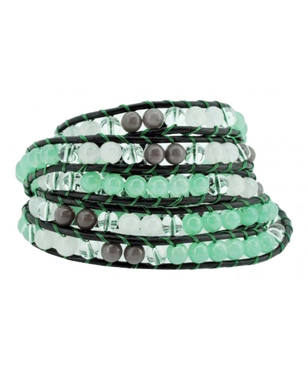 Stackable Wrap Bracelet Simulated Transparent