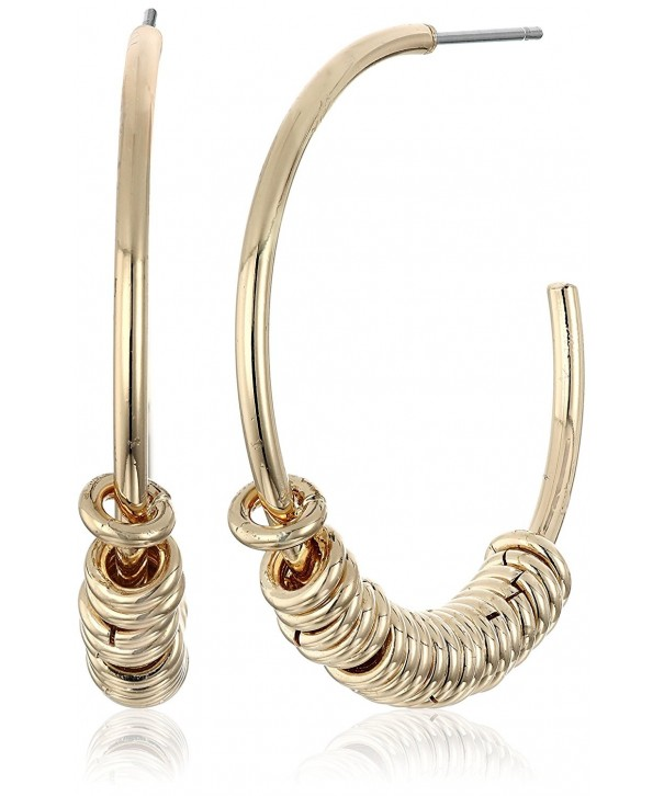 BCBGeneration Gold Rings Hoop Earrings