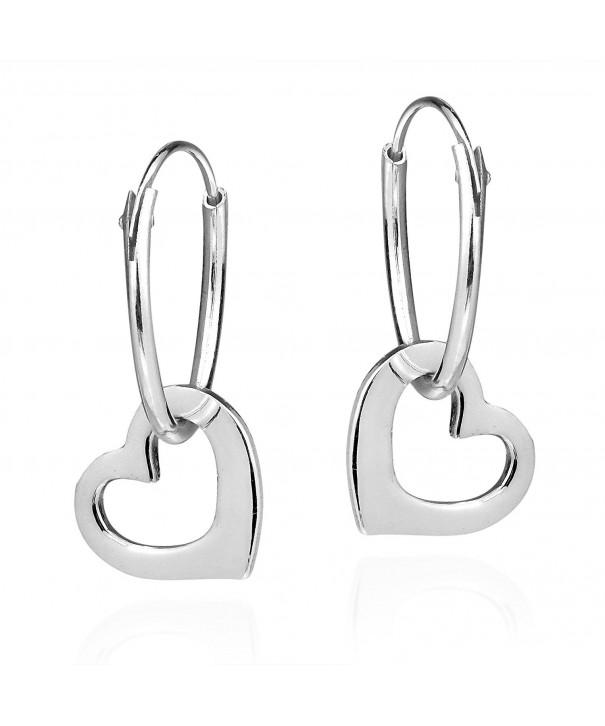 Sweet Dangle Sterling Silver Earrings