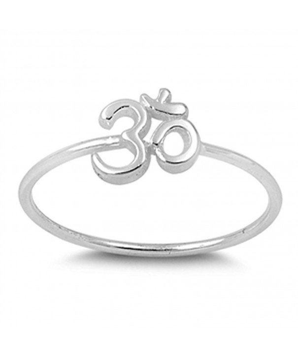 Thin Simple Fashion Sterling Silver