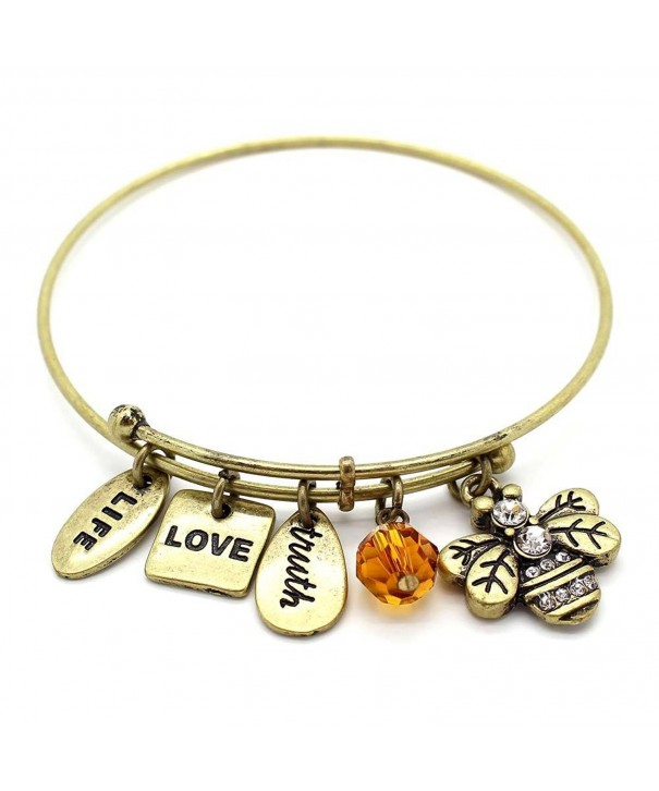 KIS Jewelry Symbology Bumble Bangle Bracelet
