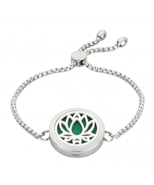 25MM Lotus jewelry Diffuser Bracelet