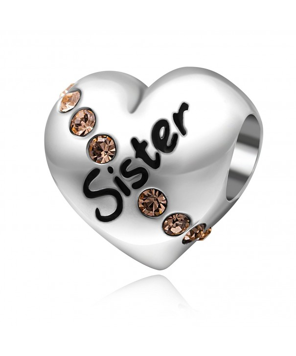 Sister Birthday Sterling Silver Bracelet