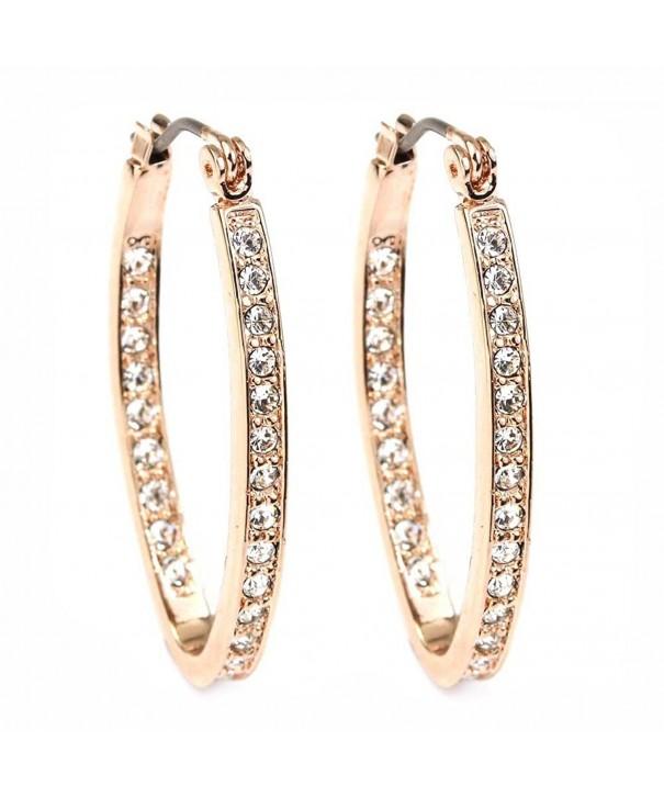 FC JORY Crystal Click Top Earrings
