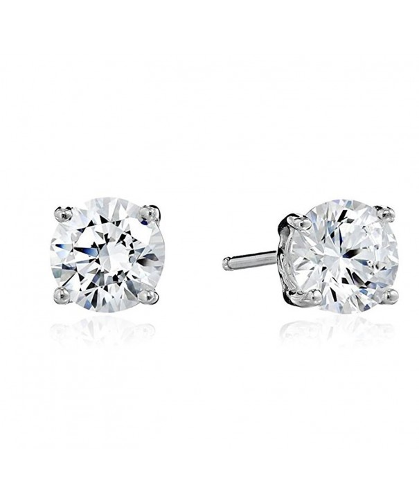 Surgical Stainless Earrings Zirconia Hypoallergenic