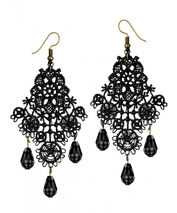 Mints Chandelier Earrings Gothic Jewelry