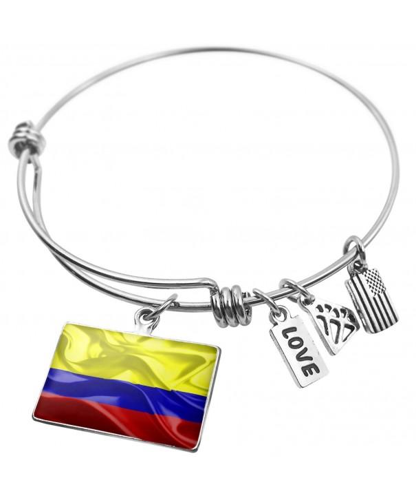 Expandable Bangle Bracelet Colombia Neonblond