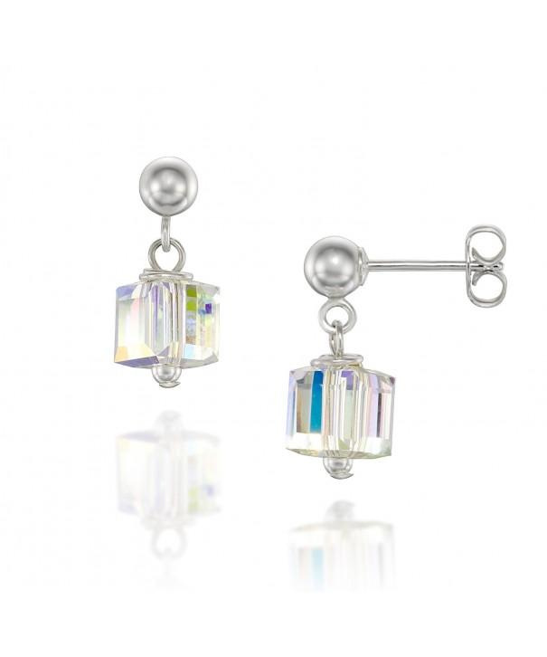 Sterling Earrings Original Swarovski Crystals