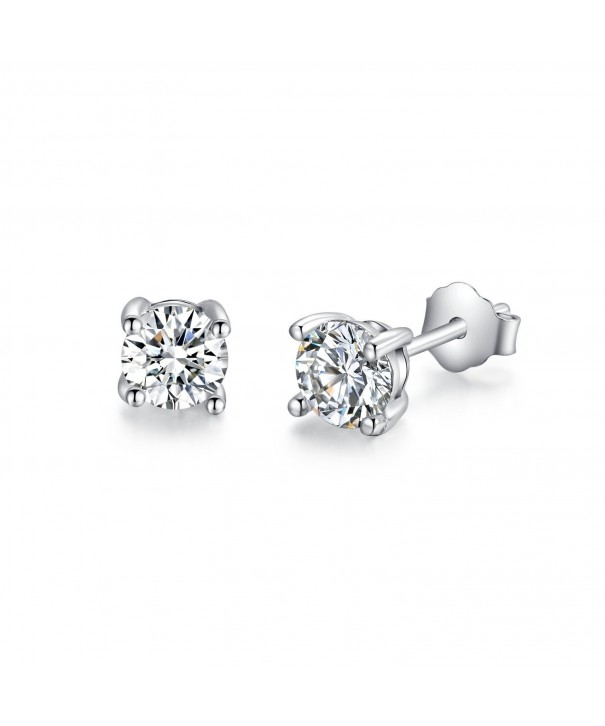 Sterling Simulated Diamond Earrings ERS03SVR